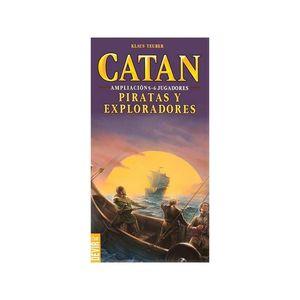 JOC - CATAN (EXP) PIRATAS Y EXPLORADORES 5-6 JUGADORES