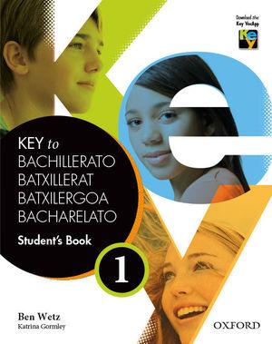 KEY TO BACHILLERATO 1: STUDENT'S BOOK
