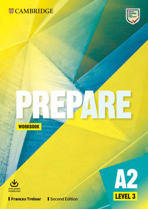 PREPARE SECOND EDITION. WORKBOOK WITH AUDIO DOWNLOAD. LEVEL 3