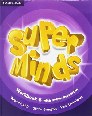 SUPER MINDS LEVEL 6 WORKBOOK PACK WITH GRAMMAR BOOKLET