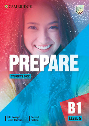 PREPARE SECOND EDITION. STUDENT'S BOOK. LEVEL 5