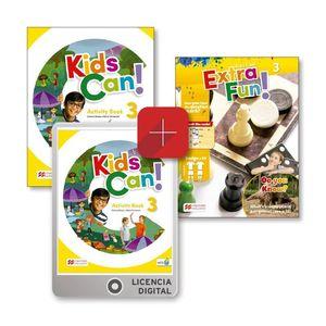 KIDS CAN 3 EJ EXTRAFUN EPACK