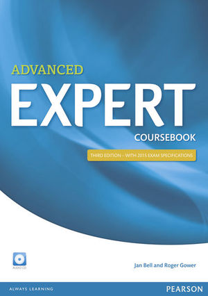 ADVANCED EXPERT (3RD EDITION) COURSEBOOK WITH AUDIO CD
