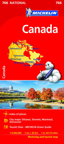 MAPA NATIONAL CANADA