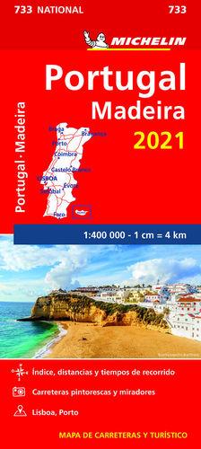 MAPA PORTUGAL MADEIRA 2021