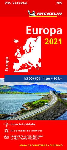 MAPA EUROPA 2021