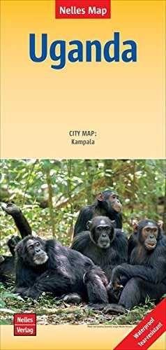 UGANDA 1:700.000 -NELLES