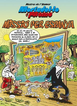 MISSIO PER ESPANYA. MESTRES DE L'HUMOR 57