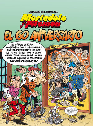 MORTADELO Y FILEMÓN. EL 60 ANIVERSARIO
