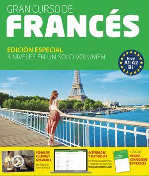 GRAN CURSO DE FRANCES (3 NIVELES EN UN SOLO VOLUMEN). IDIOMAS PONS
