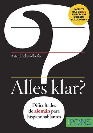 ALLES KLAR? DIFICULTADES DE ALEMAN PARA HISPANOHABLANTES
