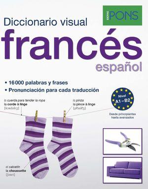 DICCIONARIO VISUAL FRANCES/ESPAÑOL. IDIOMAS PONS