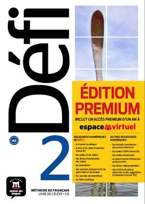 DÉFI 2 PREMIUM LIVRE DE L´ÉLÈVE + CD