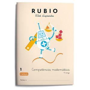 RUBIO 1. COMPETENCIA MATEMATICA +6 ANYS