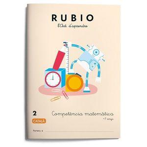 RUBIO 2. COMPETENCIA MATEMATICA +7 ANYS