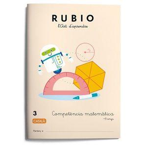 RUBIO 3. COMPETENCIA MATEMATICA +8 ANYS