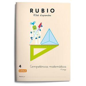 RUBIO 4. COMPETENCIA MATEMATICA +9 ANYS