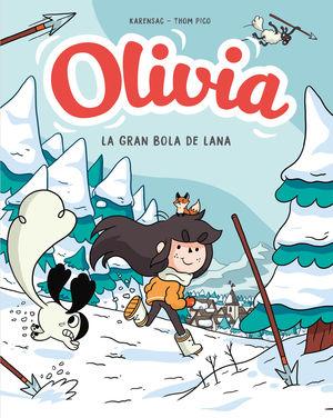 OLIVIA 3. LA GRAN BOLA DE LANA
