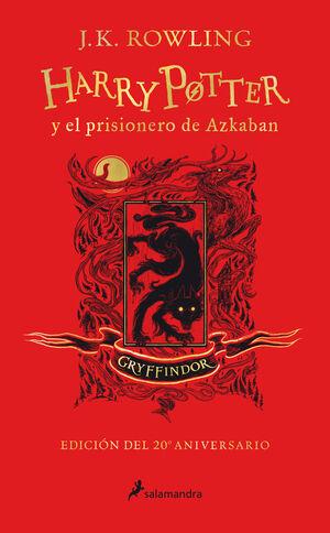 HARRY POTTER 3. PRISIONERO DE AZKABA - GRUFFINDOR (20ANIV.)