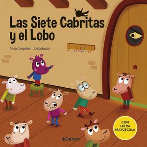 LAS SIETE CABRITAS Y EL LOBO (LETRA MAYUSCULA)