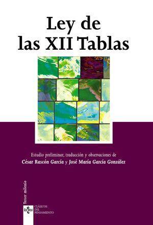 LEY DE LAS XII TABLAS