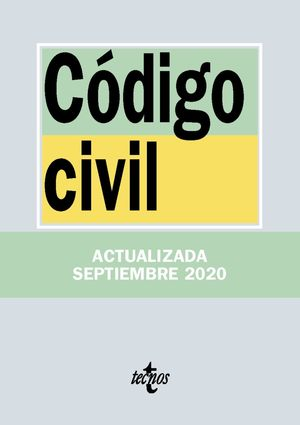 CÓDIGO CIVIL (ACTUALIZADA 09/2020)
