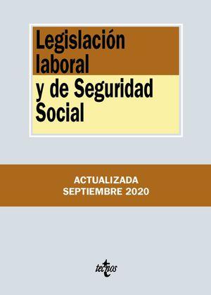 LEGISLACIÓN LABORAL Y DE SEGURIDAD SOCIAL (ACTUALIZADA 09/2020)