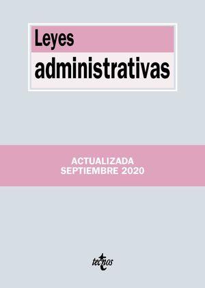 LEYES ADMINISTRATIVAS (ACTUALIZADA 09/2020)