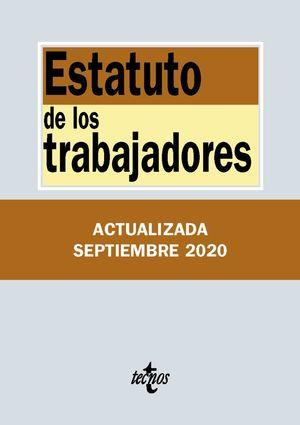 ESTATUTO DE LOS TRABAJADORES (ACTUALIZADA 09/2020)