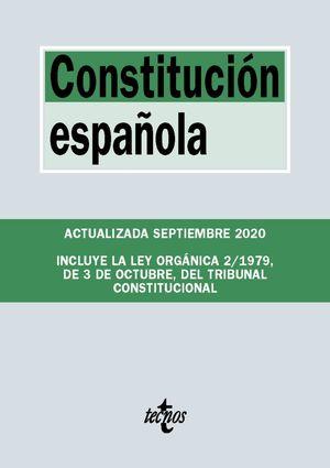 CONSTITUCIÓN ESPAÑOLA (ACTUALIZADA 09/2020)