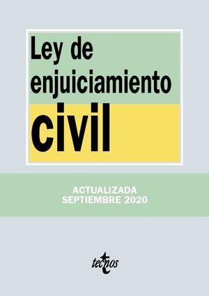 LEY DE ENJUICIAMIENTO CIVIL (ACTUALIZADA 09/2020)