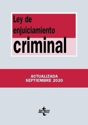 LEY DE ENJUICIAMIENTO CRIMNAL (ACTUALIZADA 09/2020)