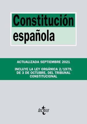 CONSTITUCION ESPAÑOLA  (EDICION ACTUALIZADA SEPT. 2021)