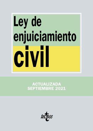 LEY DE ENJUICIAMIENTO CIVIL  (EDICION ACTUALIZADA SEPT. 2021)
