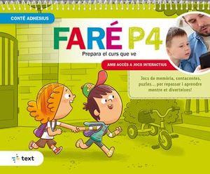 FARÉ P4. PREPARA EL CURS QUE VE