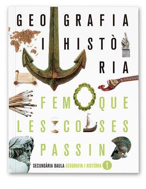 GEOGRAFIA I HISTÒRIA 1R D'ESO LA FQLCP + LLICÈNCIA DIGITAL