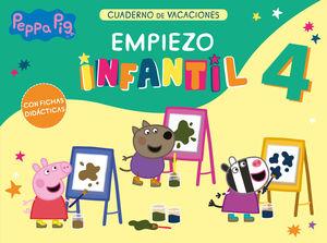 PEPPA PIG CUADERNO DE VACACIONES EMPIEZO INFANTIL 4 AÑOS