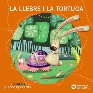 LA LLEBRE I LA TORTUGA (LLETRA PAL/LLIGADA)