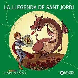 LA LLEGENDA DE SANT JORDI (LLETRA PAL/LLIGADA)