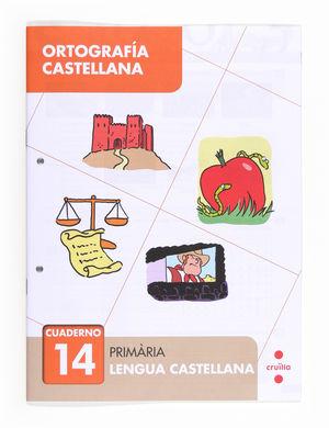 C-EP.ORTOGRAFIA CASTELLANA CUAD.14 13