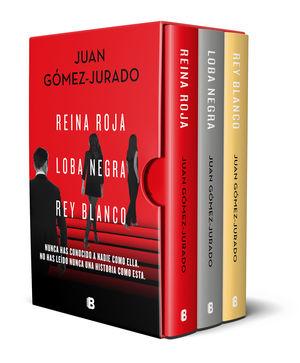 TRILOGÍA REINA ROJA (EDICIÓN PACK CON: REINA ROJA/LOBA NEGRA/REY BLANCO)