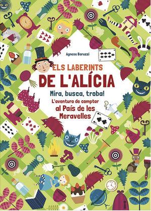 ELS LABERINTS D'ALICIA. MIRA, BUSCA I TROBA!