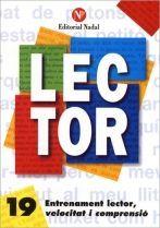 LECTOR Nº 19. ENTRENAMENT LECTOR, VELOCITAT I COMPRENSIO