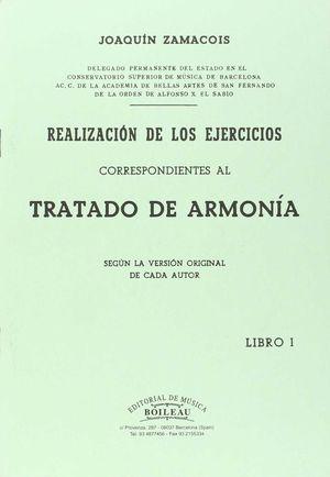 REALIZACIÓN EJERCICIOS ARMONÍA VOL.I