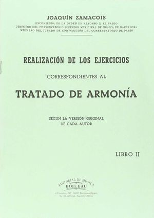 REALIZACIÓN EJERCICIOS ARMONÍA VOL.II