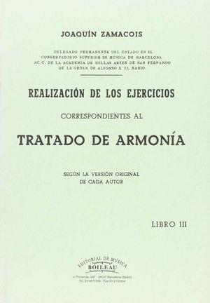 REALIZACIÓN EJERCICIOS ARMONÍA VOL.III