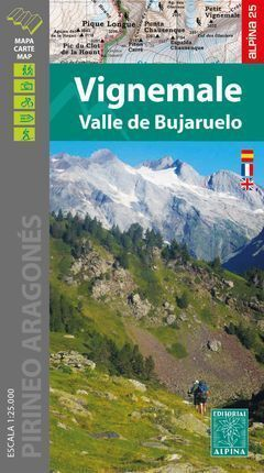 VIGNEMALE 1:25.000 VALLE DE BUJARUELO -ALPINA