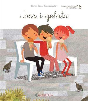 DE MICA EN MICA 18. JOCS I GELATS (LLETRA LLIGADA)