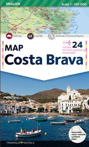 COSTA BRAVA, MAP