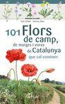 MINIGUIA DE CAMP. 101 FLORS DE CAMP, DE MARGES I VORES DE CATALUNYA